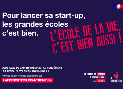 affiche french tech tremplin phase 2 incubation